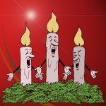 Candles singing